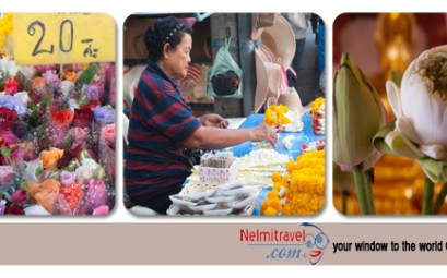 Flowers in Thailand; Role of flowers in Thailand; Flower Markets in Thailand; Flowers and Festivals in Thailand