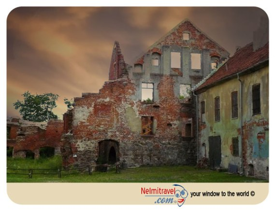 Istenburg Castle, Konigsberg, Kaliningrad, Chernyakhovsk, Knights of Teutonic