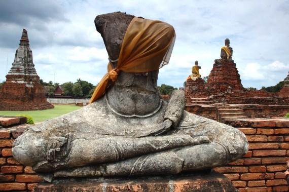 Ruin Buddha Status   © Kwanfm   Dreamstime Stock Photos