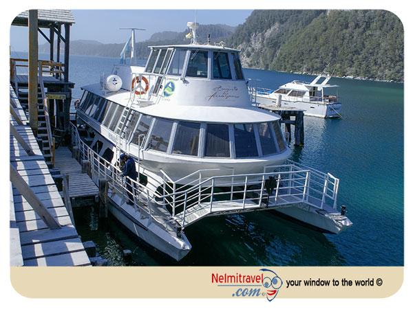 Futaleufu Ferry; Villa La Angostura; Ferry to Arrayanes Forest; Arrayanes Forest Patagonia; Nahuel Huapi National Park; Nelmitravel