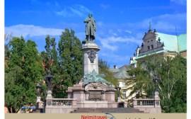 Adam Mickiewicz Monument Warsaw