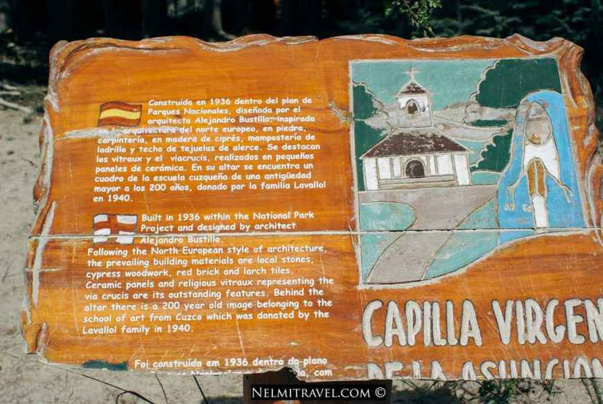Information about the Capilla.