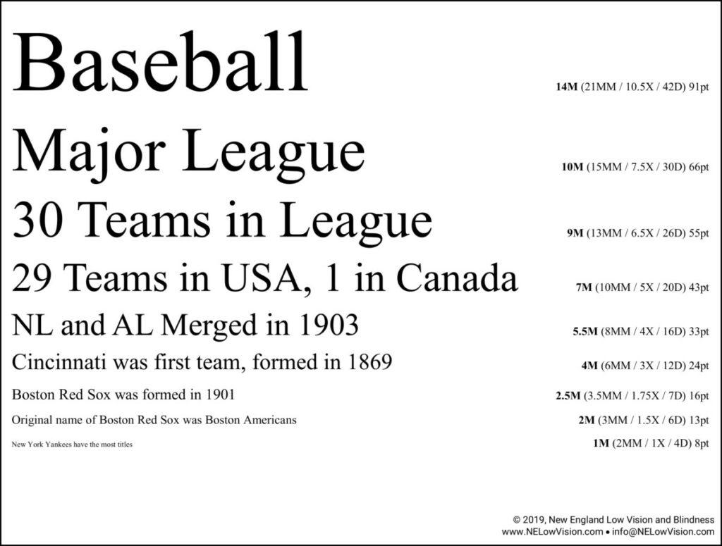 Nelvb Baseball Eye Chart Request Page