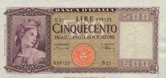 Care vecchie Lire - Tutti i personaggi apparsi sulle banconote (4/6)