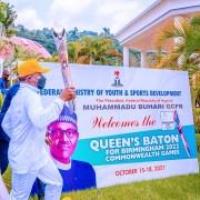 Osinbajo receives Queen's Baton for 2022 Commonwealth Games