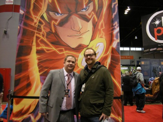 Nels Lindahl and Andy at C2E2