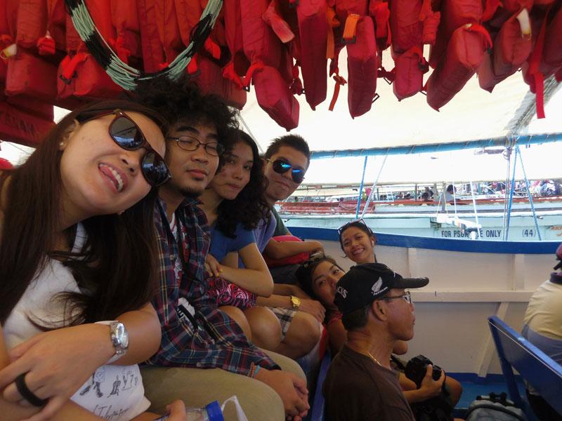 Boat ride to Guimaras
