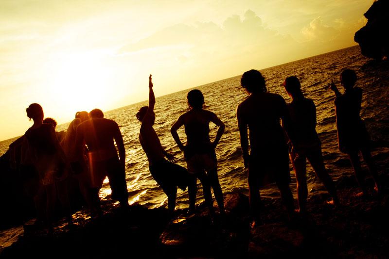 Sunset at Kenyama Beach Resort