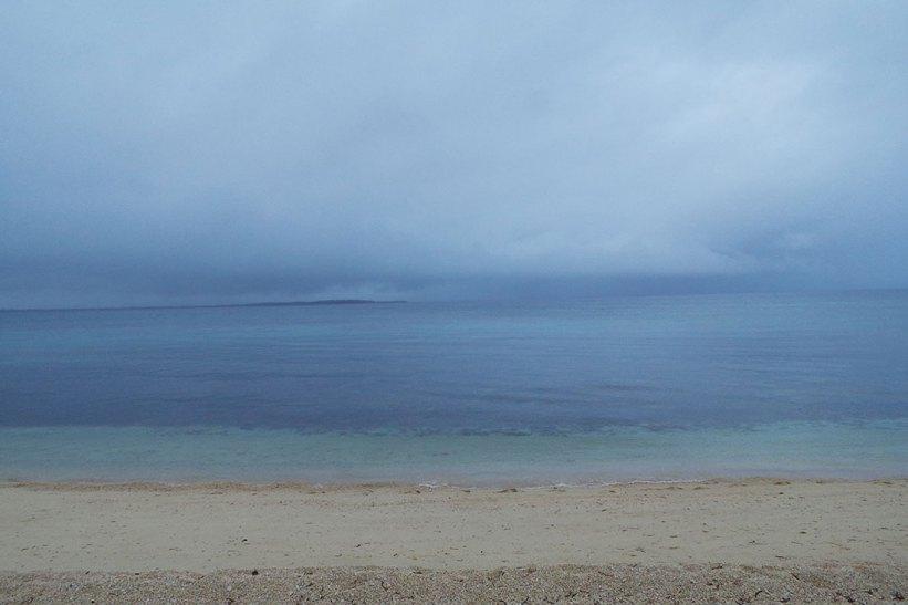 Maniwaya Island shoreline