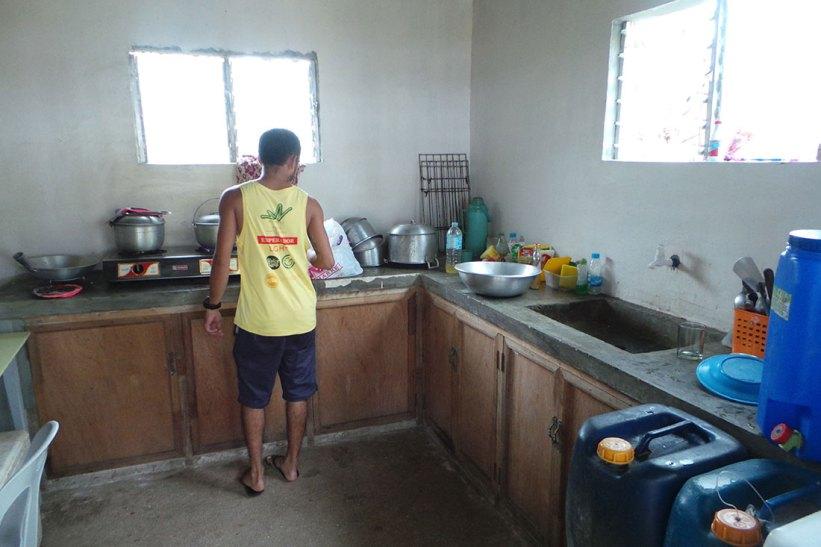Wawie's Beach kitchen