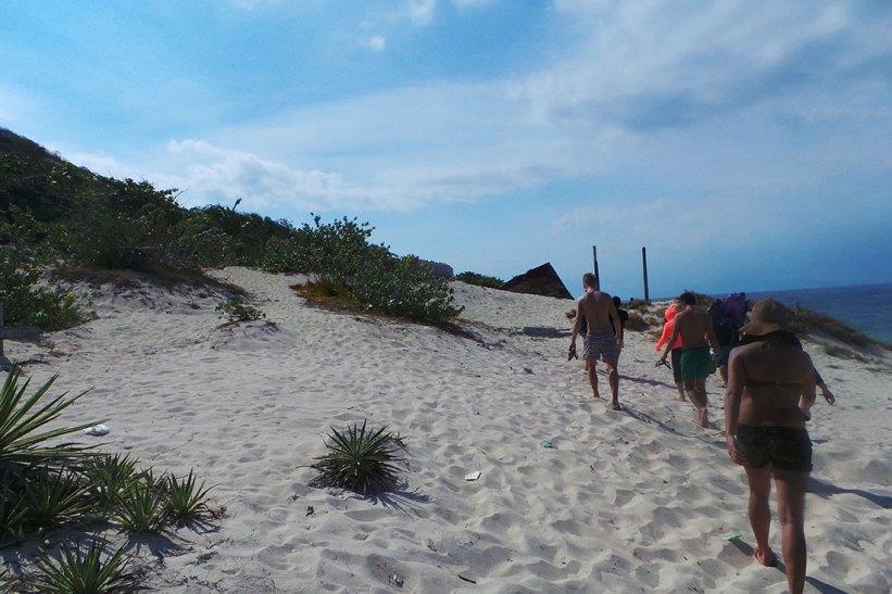 Exploring Fortune Island
