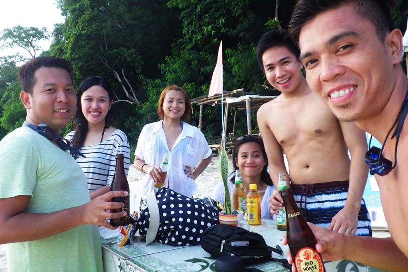 Socials at Seven Commandos Beach