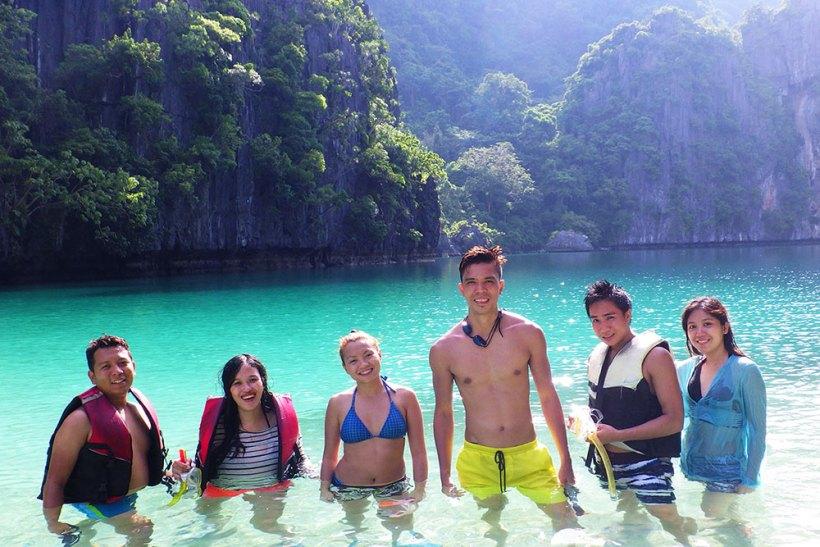 Group photo at Big Lagoon