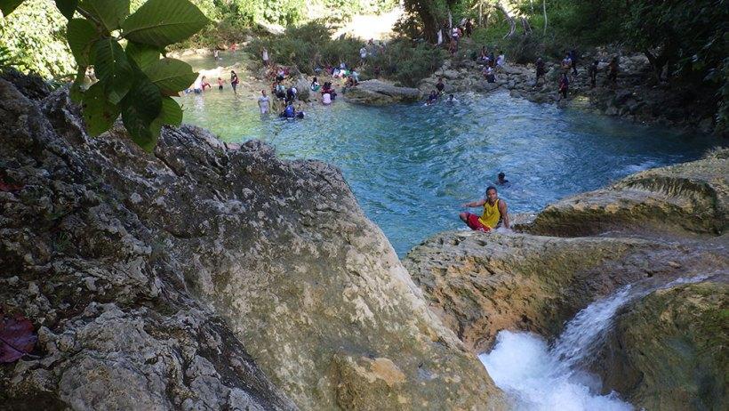 Bao-Bao Falls plunge pool