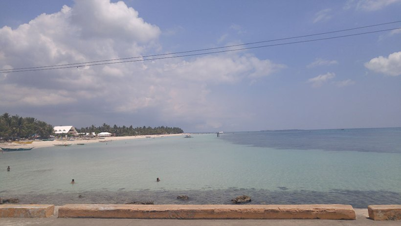 Santa Fe Port in Bantayan Island