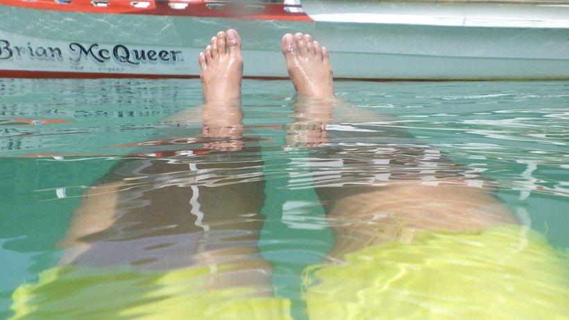 Swimming in El Nido