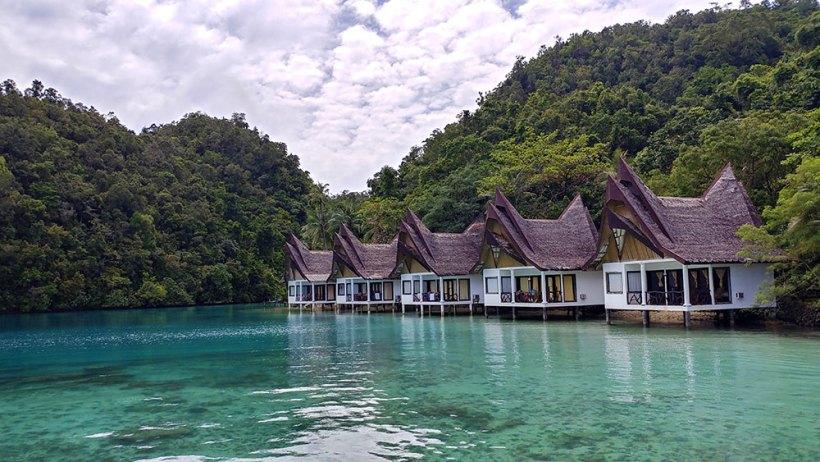 A fancy resort in Bucas Grande