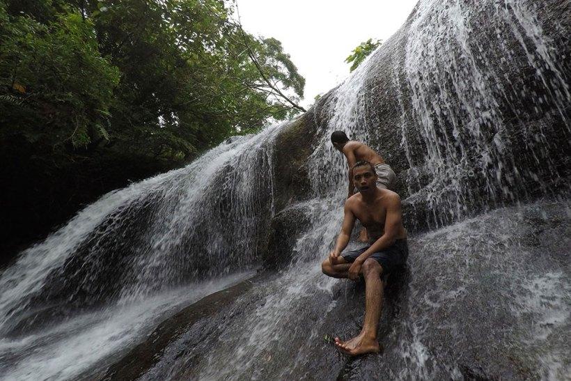 Igpasungaw Falls up-close