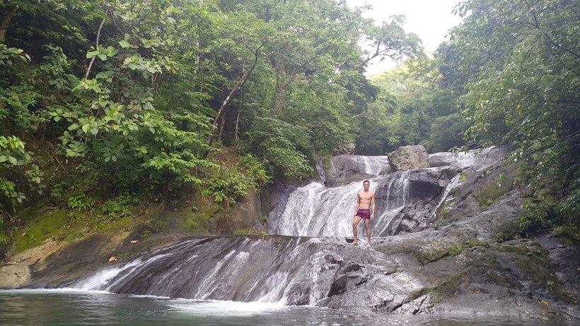 Modeling at Igpasungaw Falls
