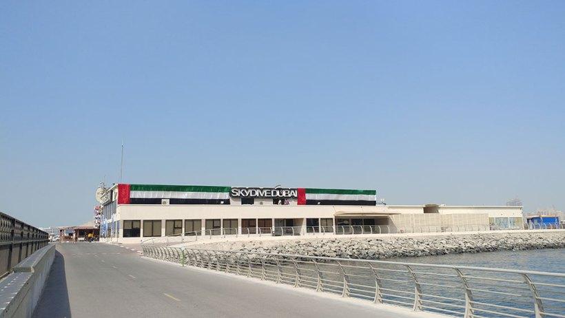 Skydive Dubai facility