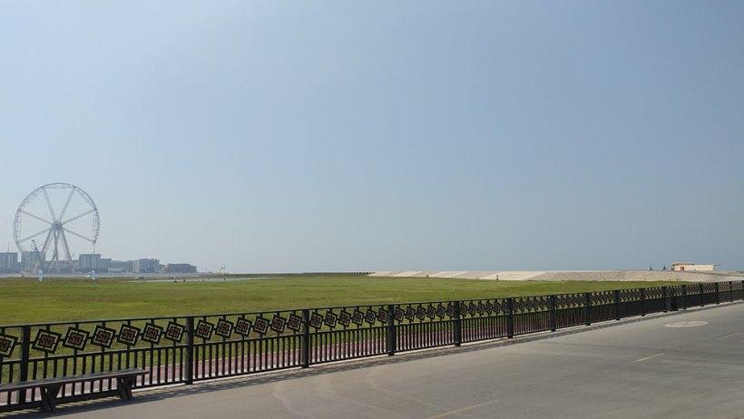 Skydive Dubai drop zone