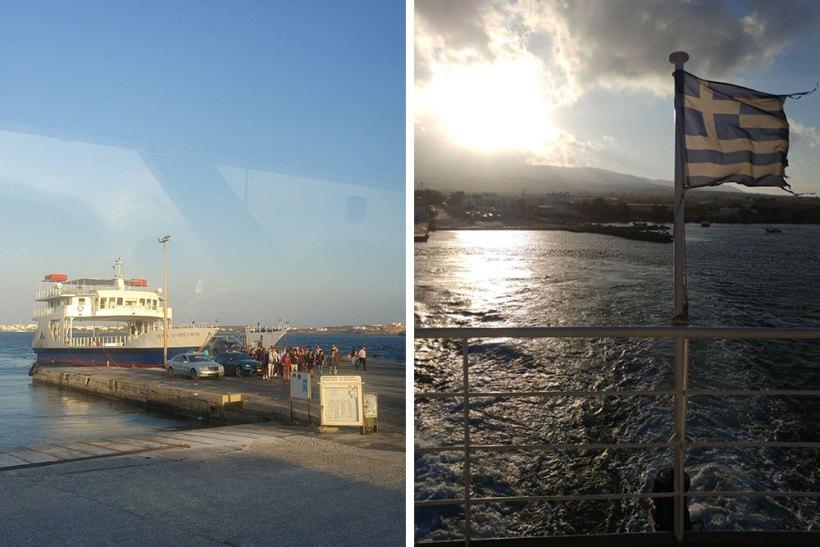 Arriving at Pounda Port