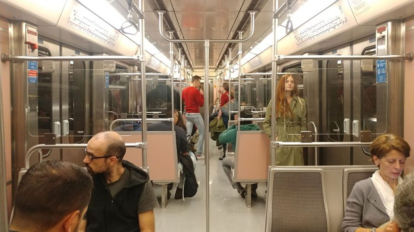 Riding the Athens Metro