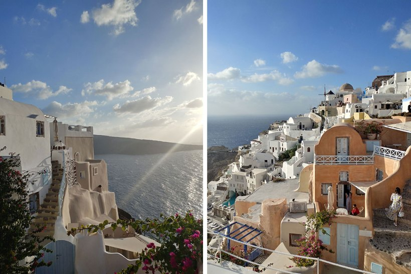 An afternoon in Oia