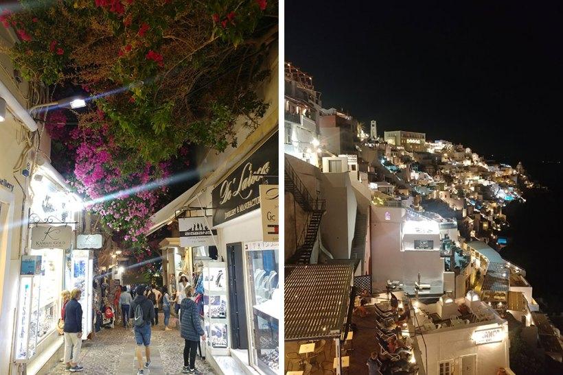 Shops in Fira