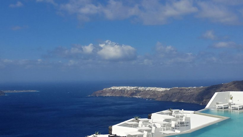 Oia from afar