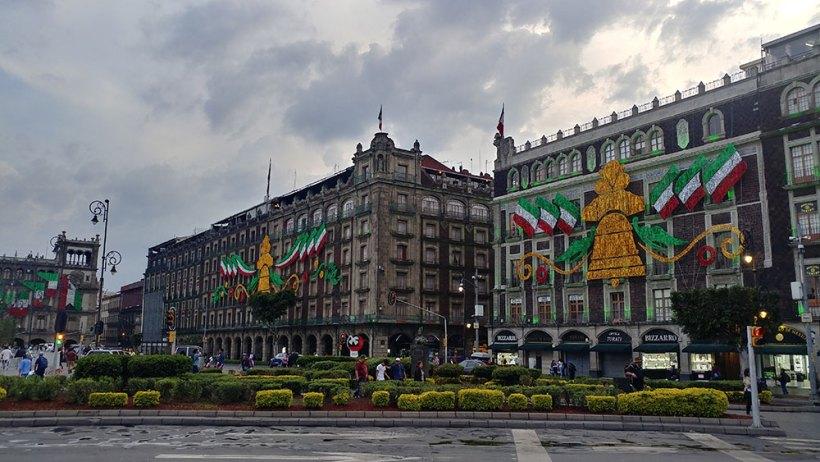 Buildings around Zocalo