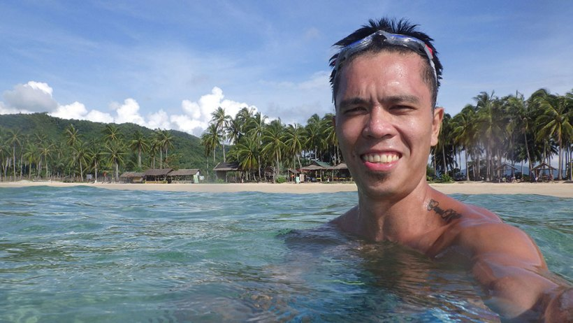 Nacpan Beach (Seat sale to Puerto Princesa, Palawan)
