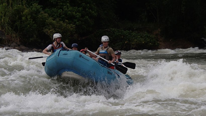 White water rafting (Seat sale to Cagayan de Oro)