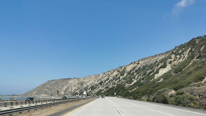 Pacific Coast Highway road trip in one day stopover: Santa Barbara