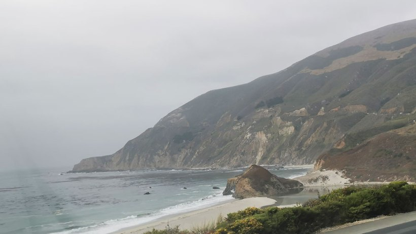 A shoreline in Big Sur