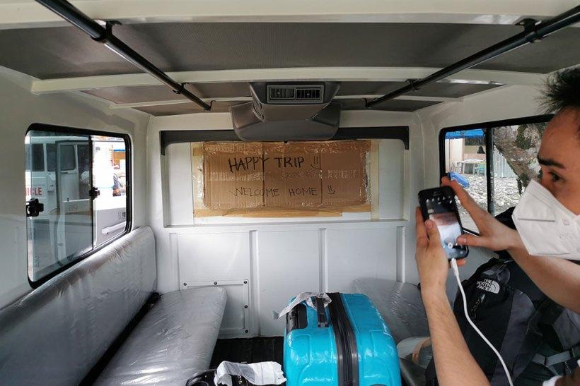 Transport to San Francisco