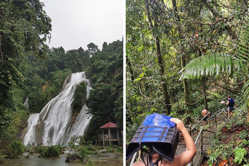 Walk to Bega Falls: Level 2