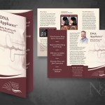 Dr. Sam Cress - DNA Appliance Brochure Print Design