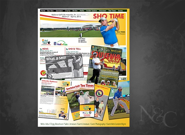 Shell Houston Open 2013 Print and Web Samples