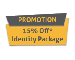 15% Off Brand Identity Package now through July 31, 2020