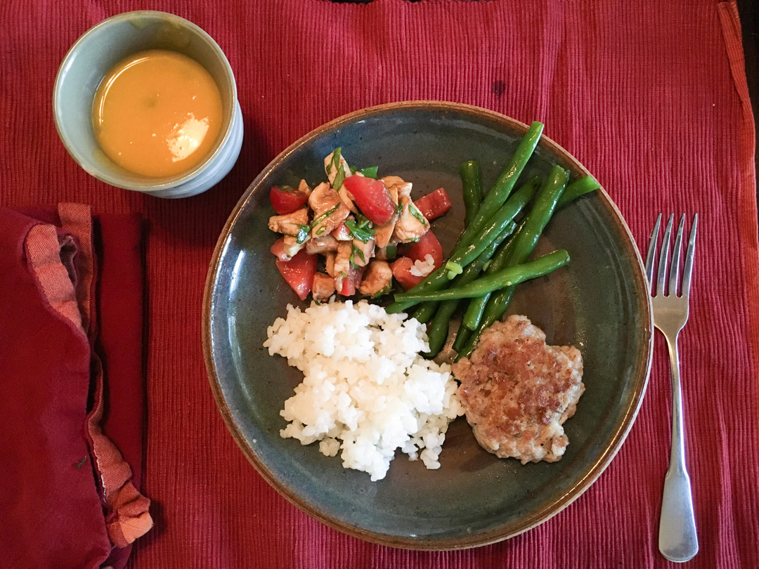 Dinner, July 21