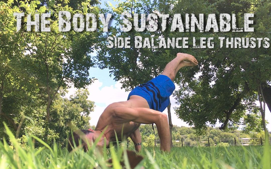 Side Balance Leg Thrusts (Advanced!)
