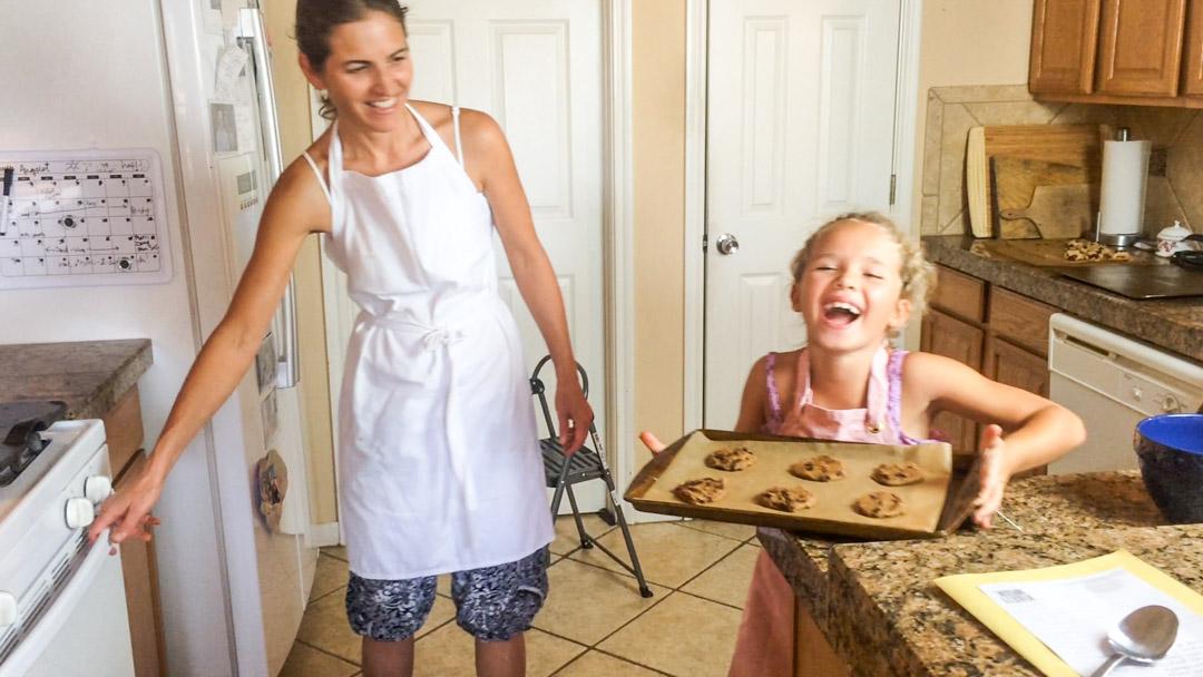 Curly Girl Makes Vegan, Gluten Free Chocolate Chip Cookies!
