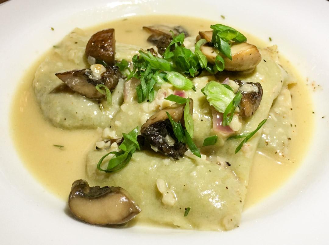 Maultaschen – a wild mushroom ravioli
