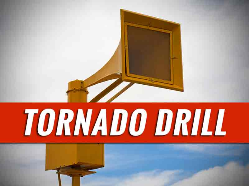 Statewide tornado drill set for Thursday for 'Severe Weather Awareness Week'