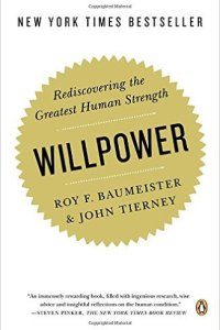 Willpower, Roy Baumeister