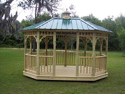 For Sale Gazebo Gainesville, FL With Cupola