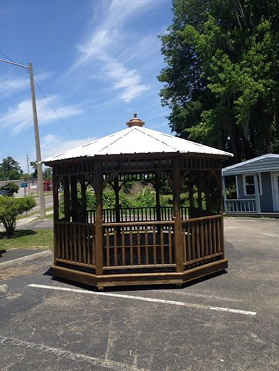 For Sale Gazebo Gainesville, FL With Metal Roof