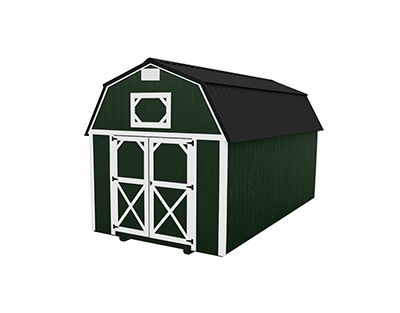 Portable Building Lofted Barn
