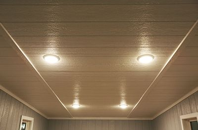 Premanufactured Tiny Home With Recessed Lighting in Gainesville, FL.